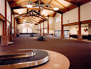 Eagle Vail Airport Inside